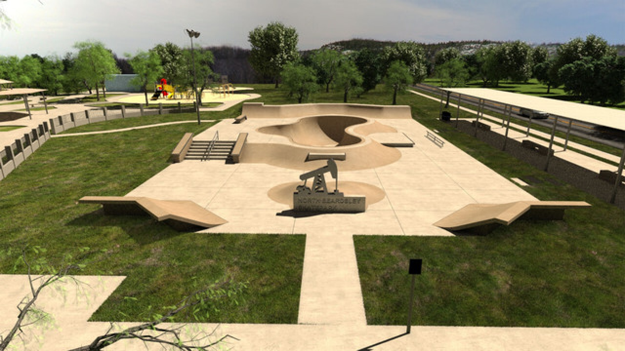 New skate park opening in North Beardsley Park