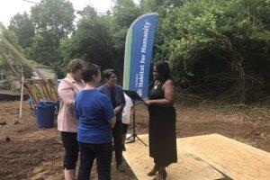 Groundbreaking Held For Habitat For Humanity Home