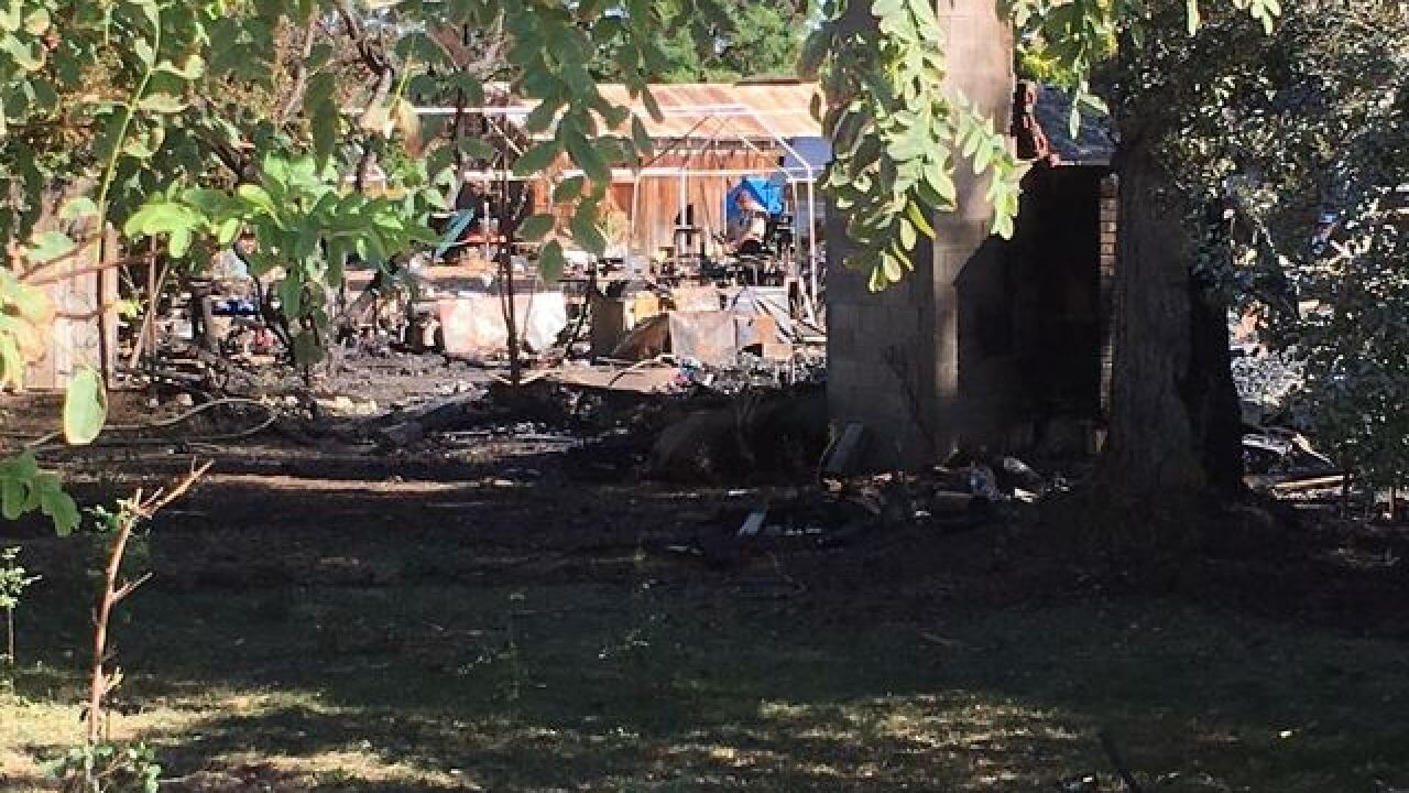 Death toll rises in shooting and house fire