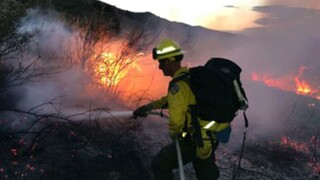 Deer Creek Canyon Fire