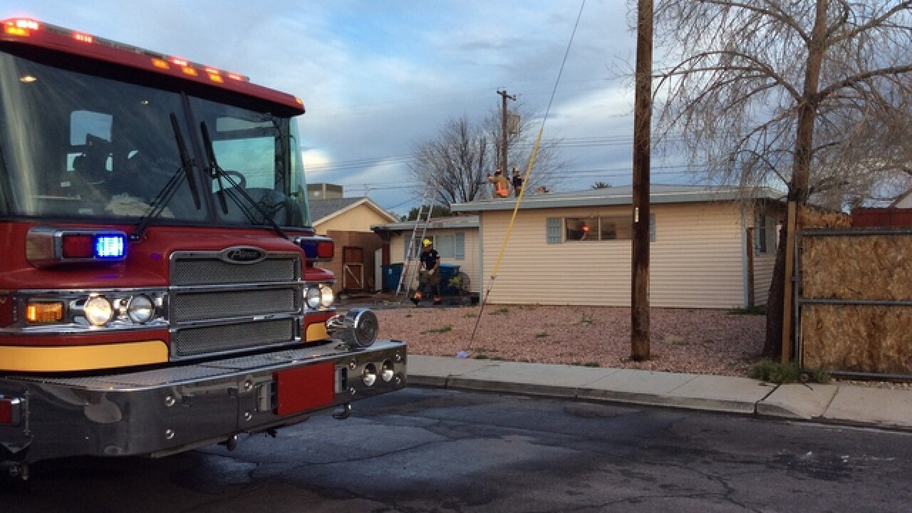 Apparent chicken coop fire spreads to house