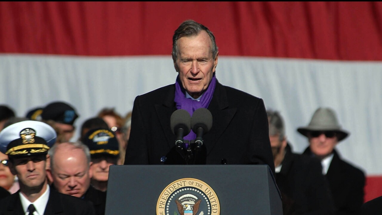 George H.W. Bush's full funeral program