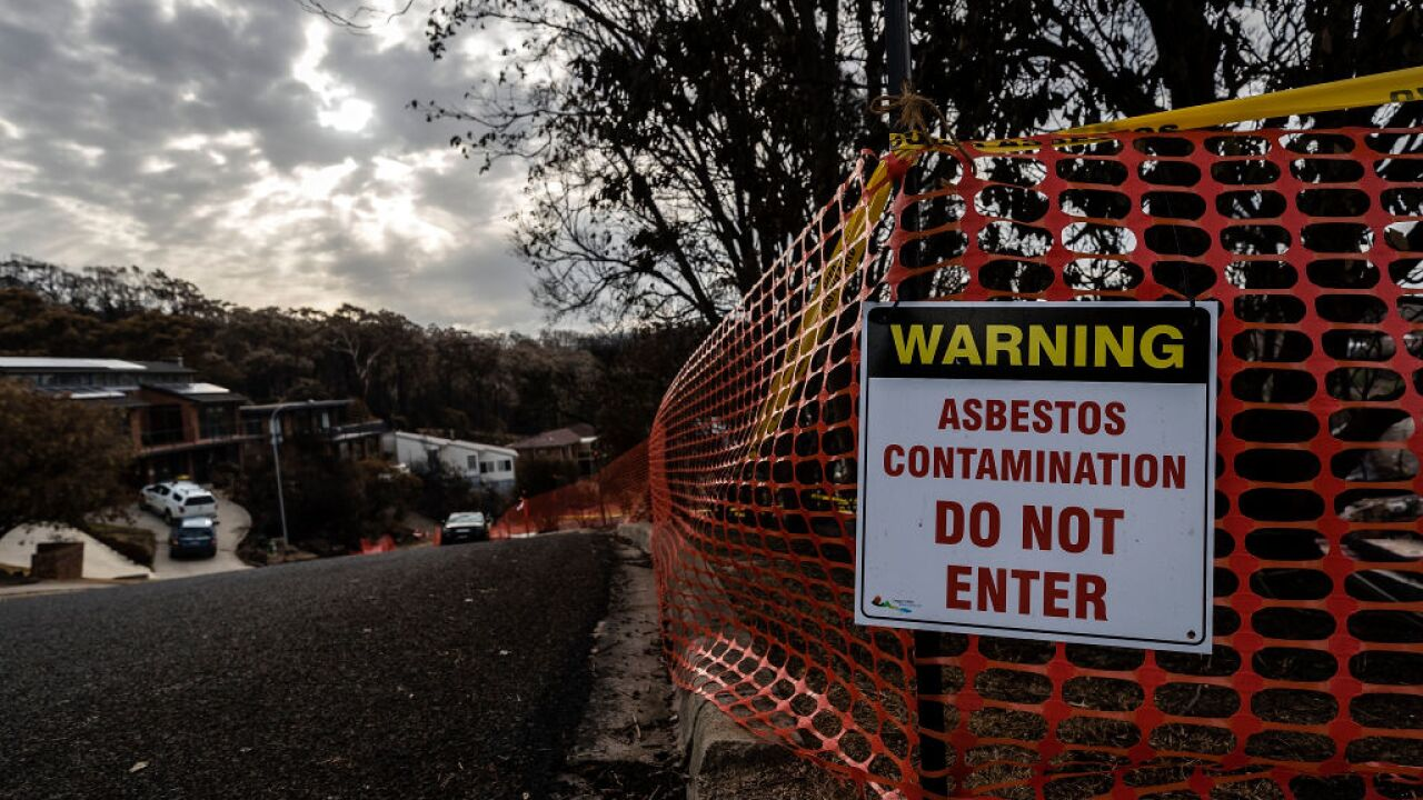 Asbestos can cause cancer, which is one reason states are suing the EPA for tougher regulation