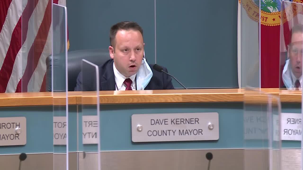 Mayor Dave Kerner, July 7, 2020
