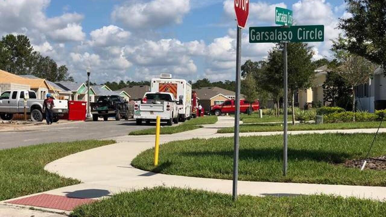 Gas leak repaired in Hernando County