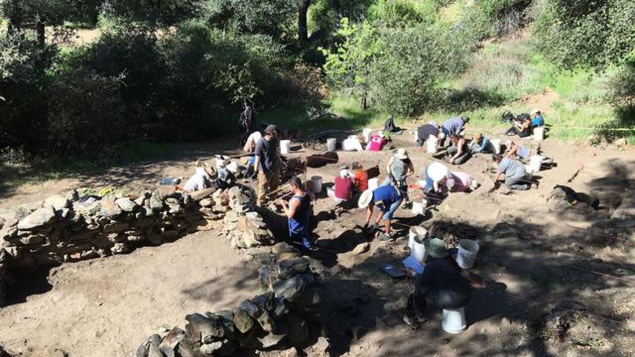 SDSU archaeologists dig up bones, relics