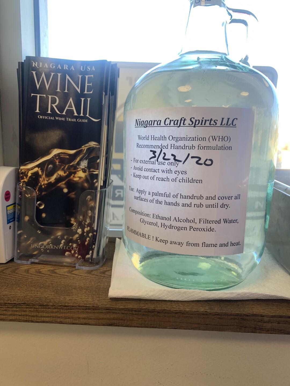 Niagara Craft Spirits Hand Sanitizer