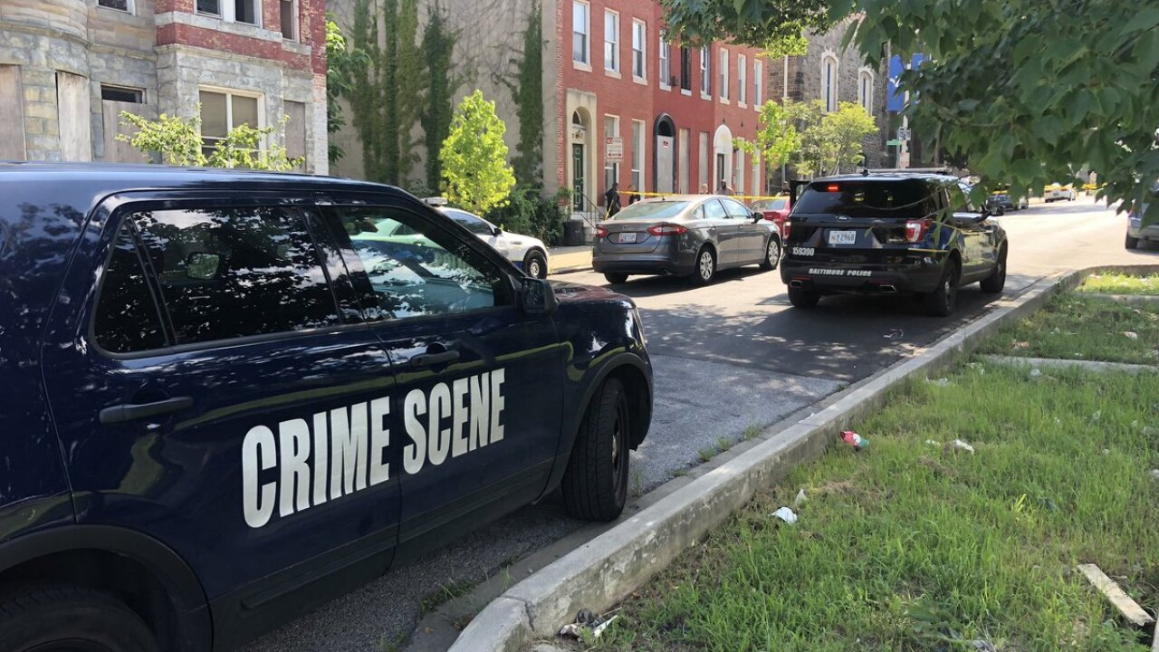 Detectives investigate Sunday afternoon shooting in the 1700 block of W. Fayette Street