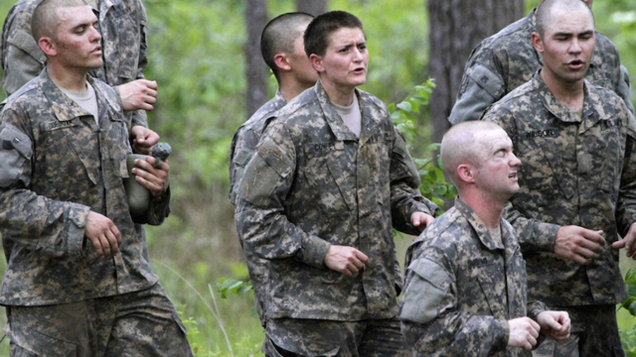 Military starts to recruit women for combat jobs