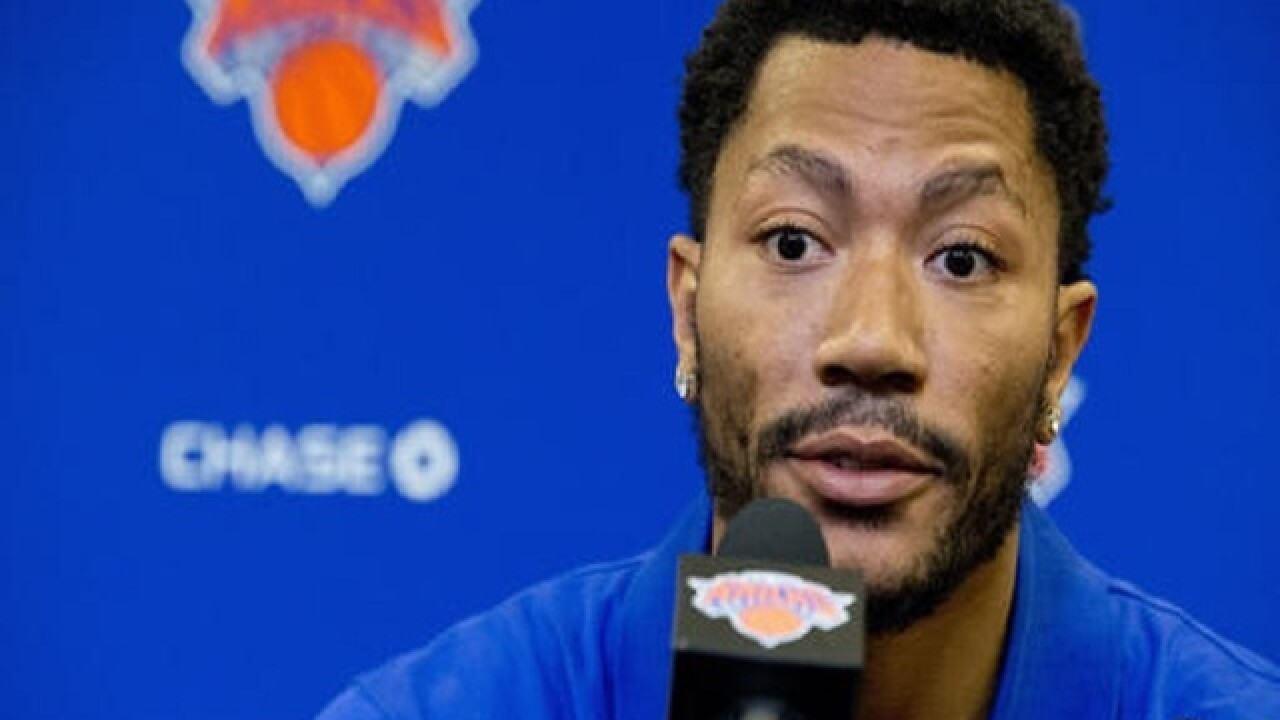 Derrick Rose rape trial to begin on day of Knicks preseason start