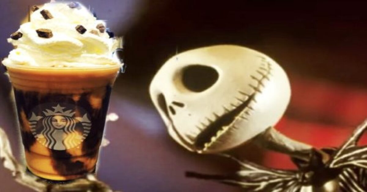 Christmas Starbucks Drinks 2019.Here S How To Order A Jack Skellington Frappuccino From