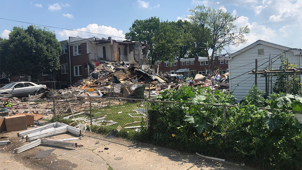 One dead, others rescued after explosion demolishes homes in NW Baltimore.jpg