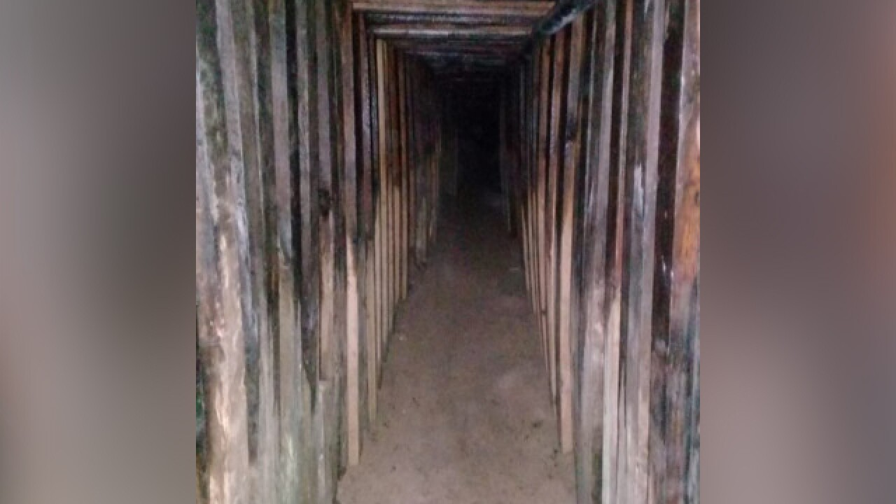 Cross-border tunnel found in Arizona