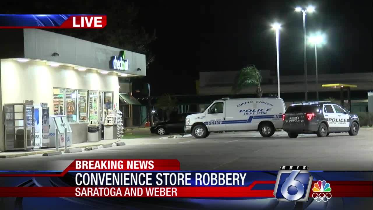 Early morning convenience store robbery