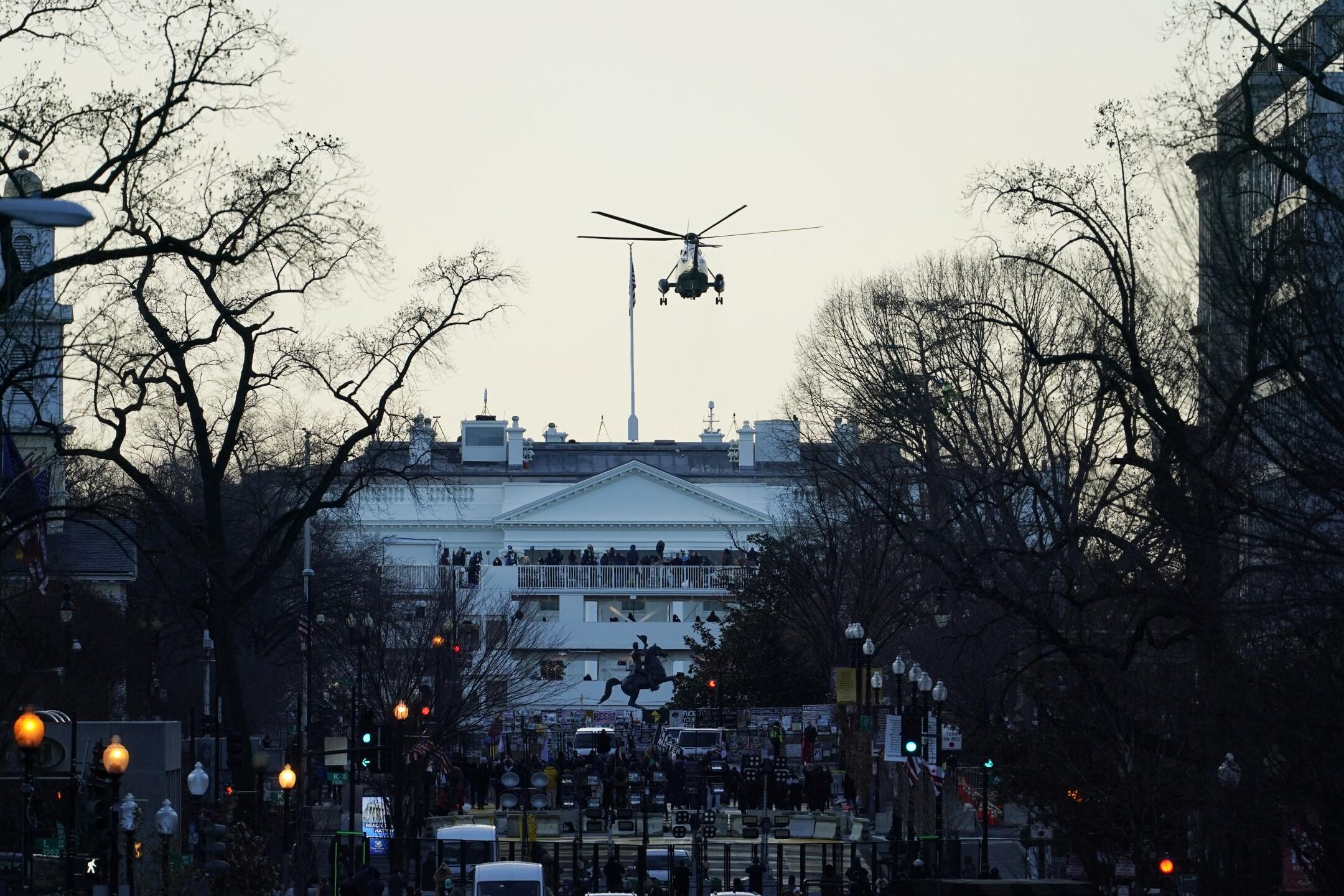 APTOPIX Biden Inauguration Security
