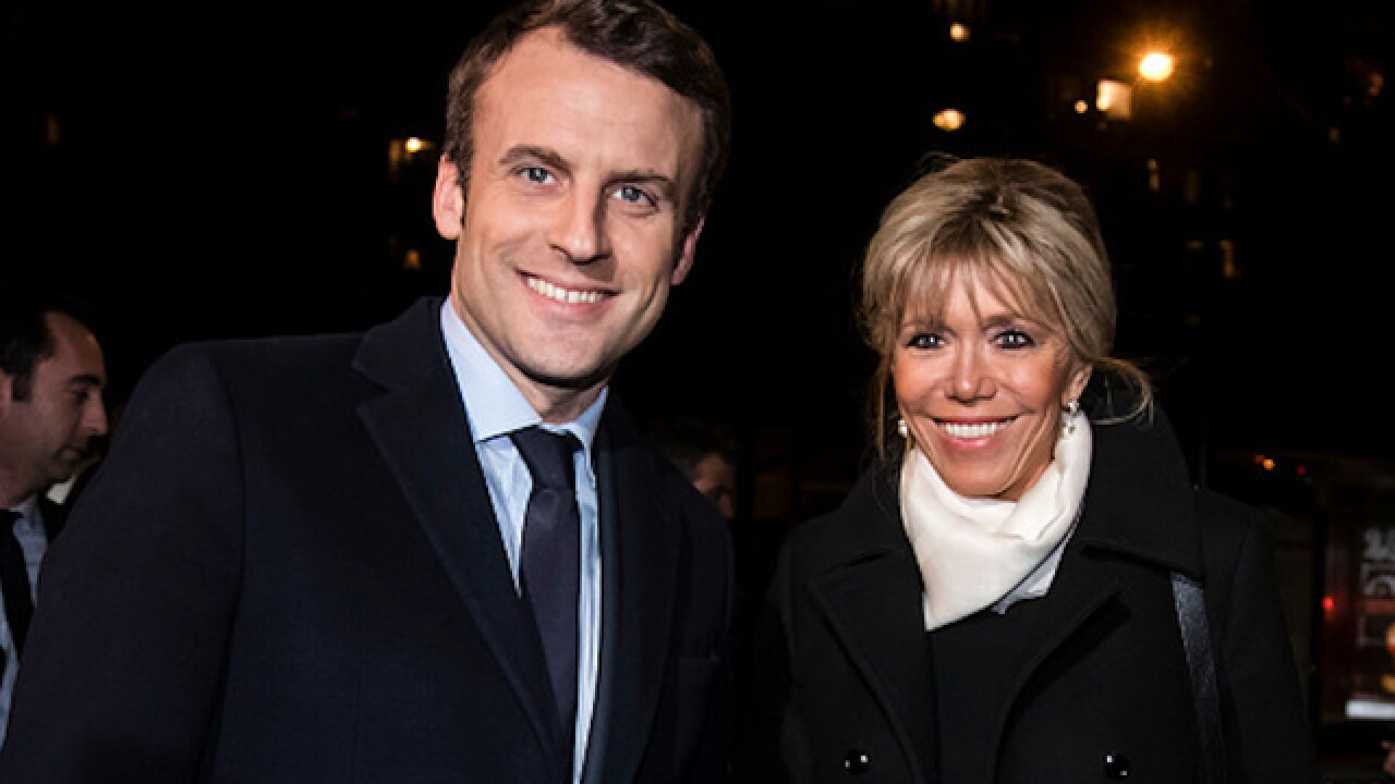 The man who could be France's next president married his school teacher
