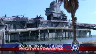 Special Veterans Day ceremonies will take place today at the U.S.S. Lexington