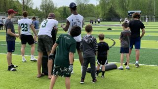 Forest Hills youth football camp