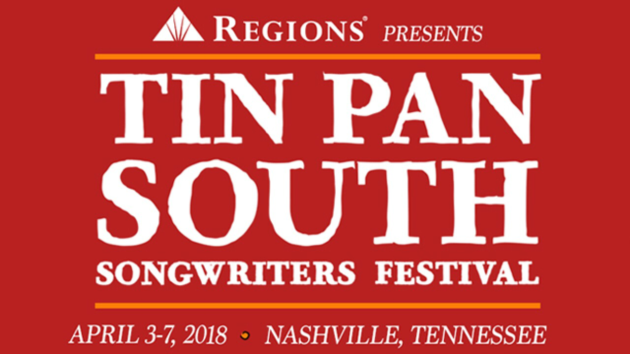 Tin Pan South Honors Writers Of Popular Songs