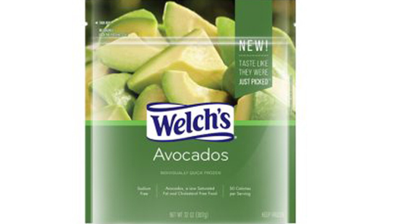 Your toast has been saved: Welch's is now selling frozen avocado slices