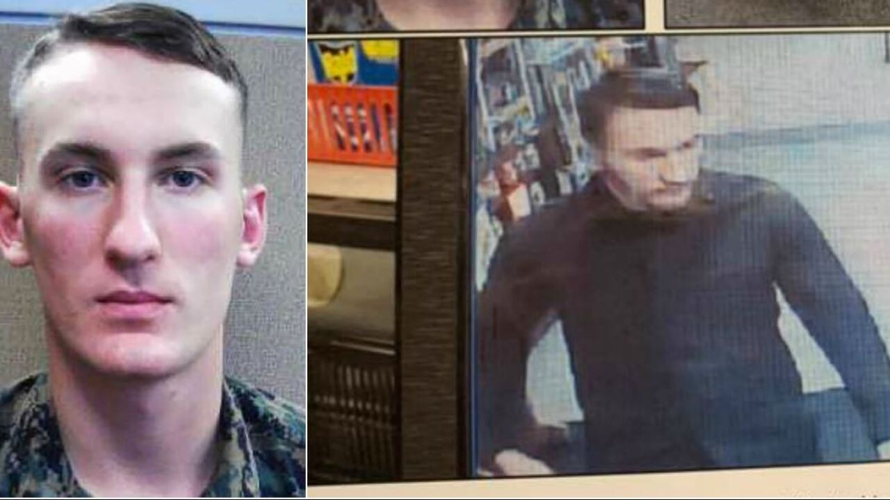Roanoke schools close as police track Marine wanted for murder