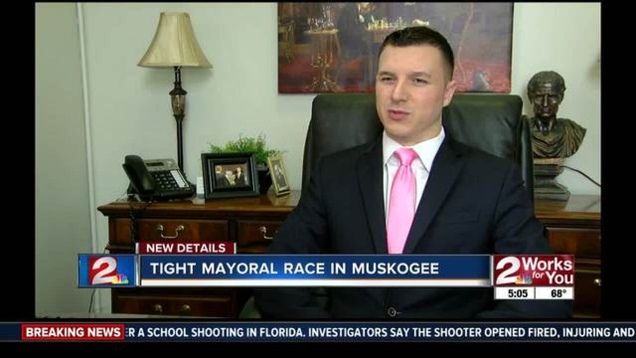 Tight mayoral race in Muskogee