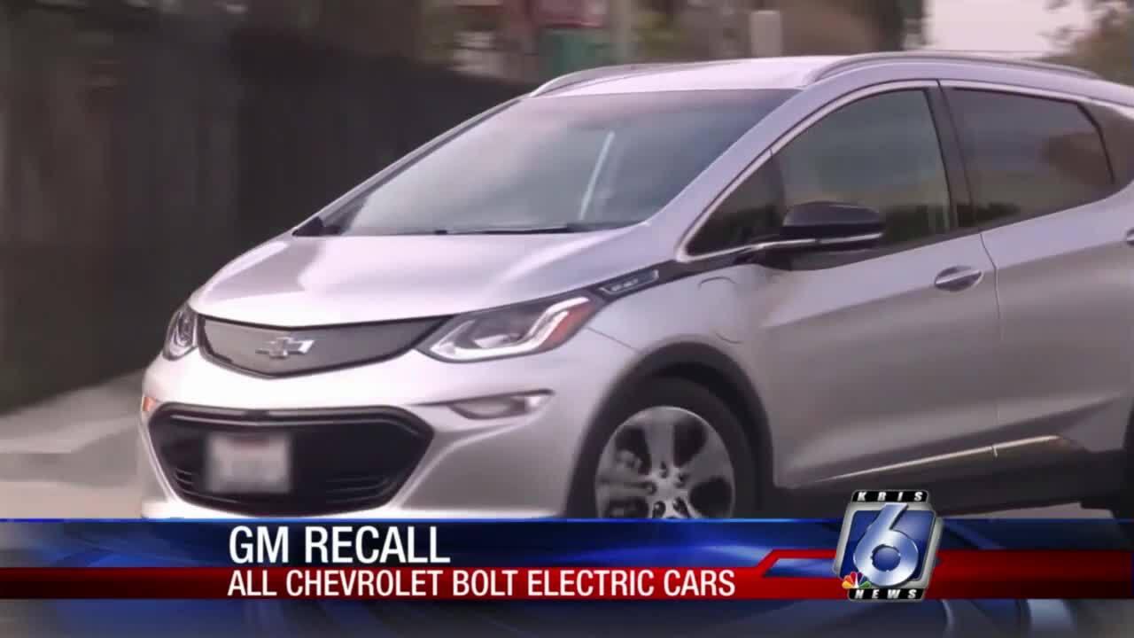GM recall Bolt electric cars