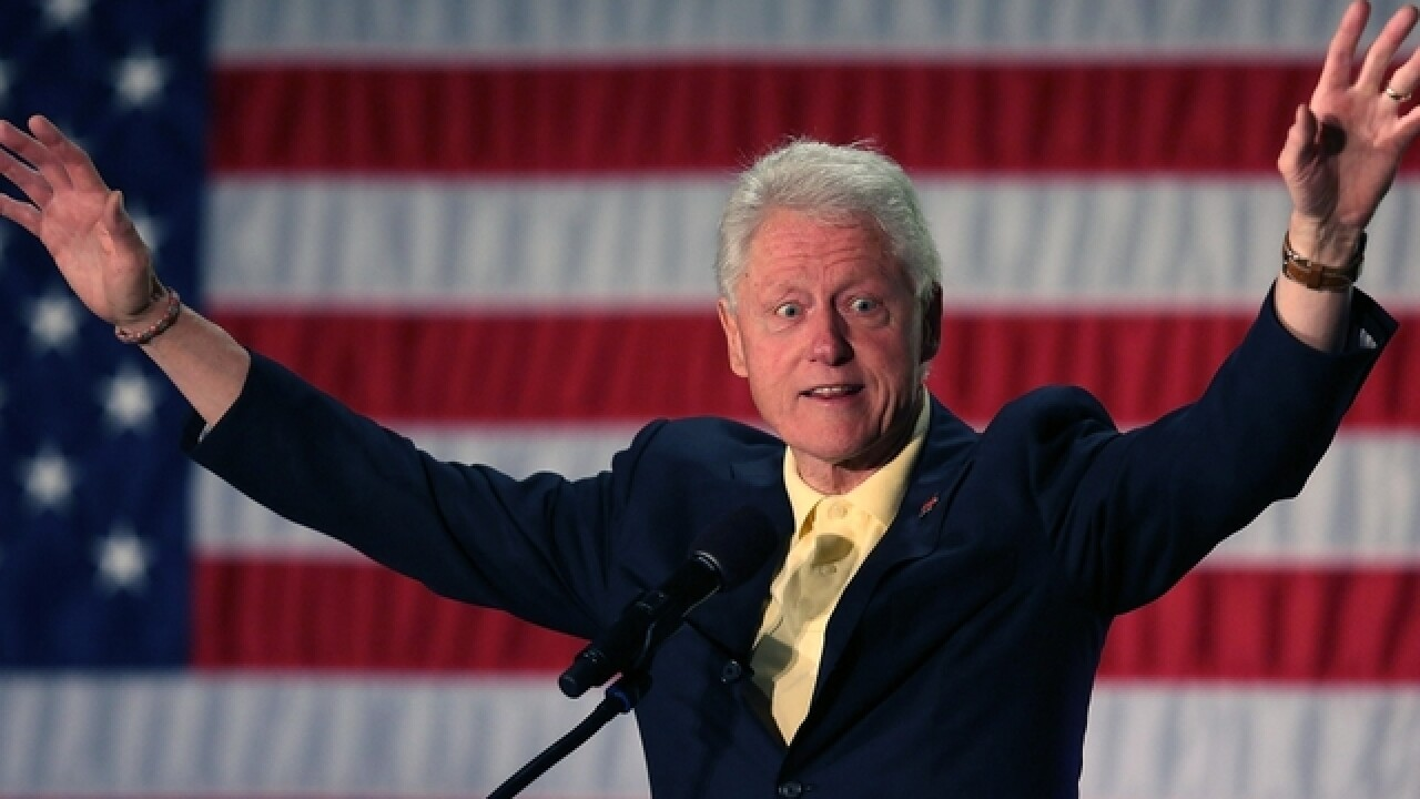 Dismissing risks, Trump goes all-in on Bill Clinton's past