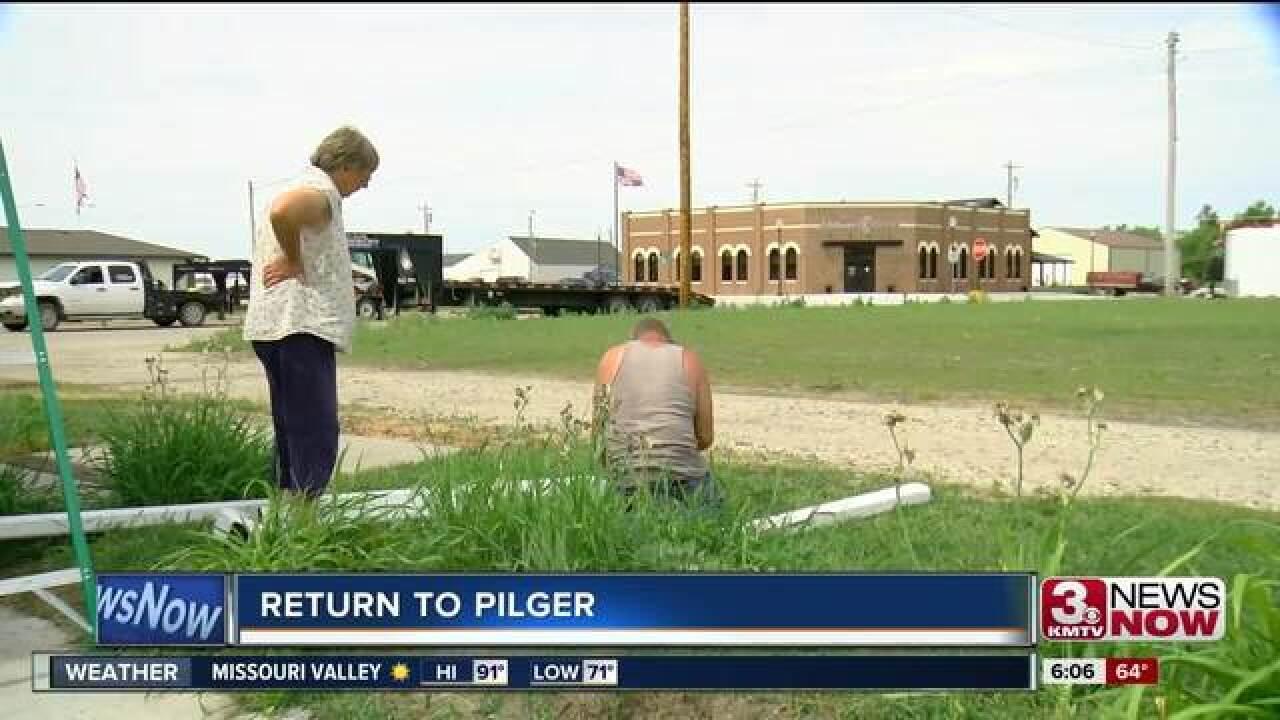 Return to Pilger: three years later