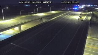 I-17 pedestrian hit loop 303