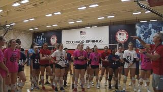 College volleyball's best leave it on court for Team USA