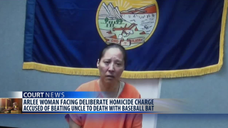 Montana woman accsued of beating uncle to death with baseball bat