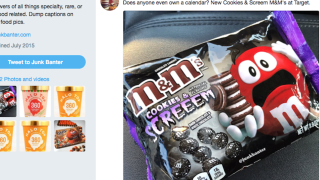 Oreo-inspired Halloween M&Ms released