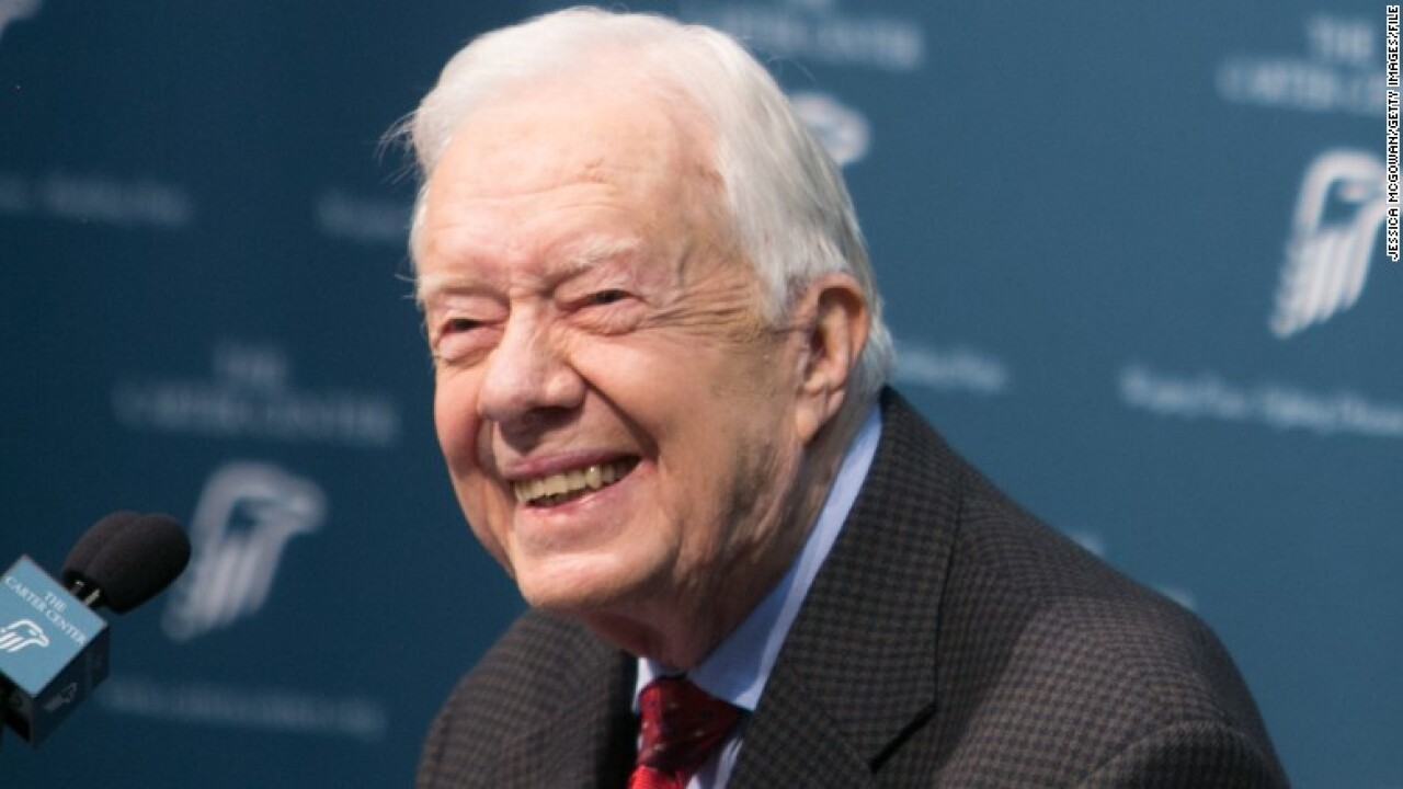 Jimmy Carter will spend Thanksgiving at home after release from hospital