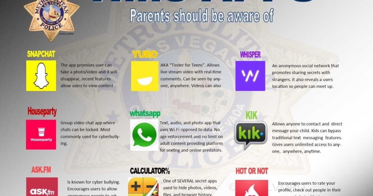 9 apps police say parents should know about
