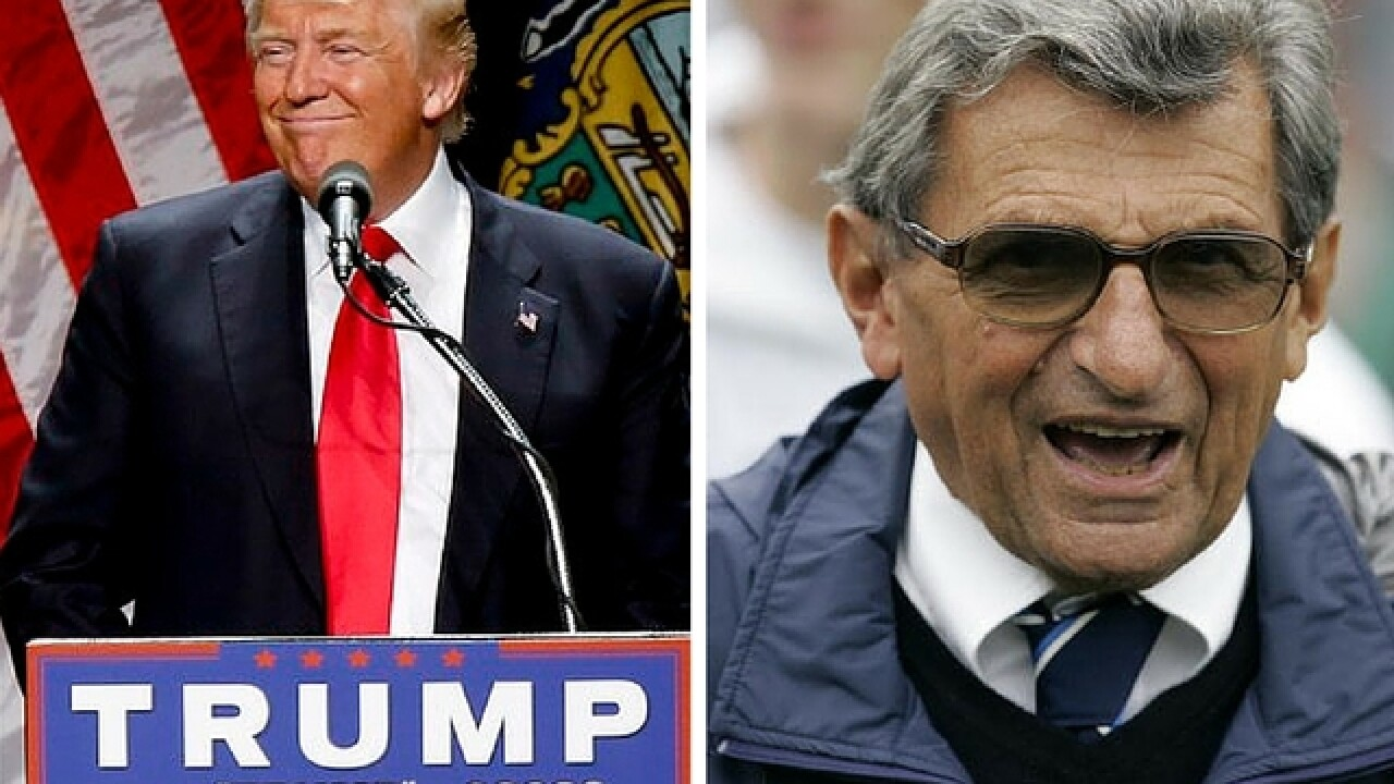 Donald Trump forgot Joe Paterno died