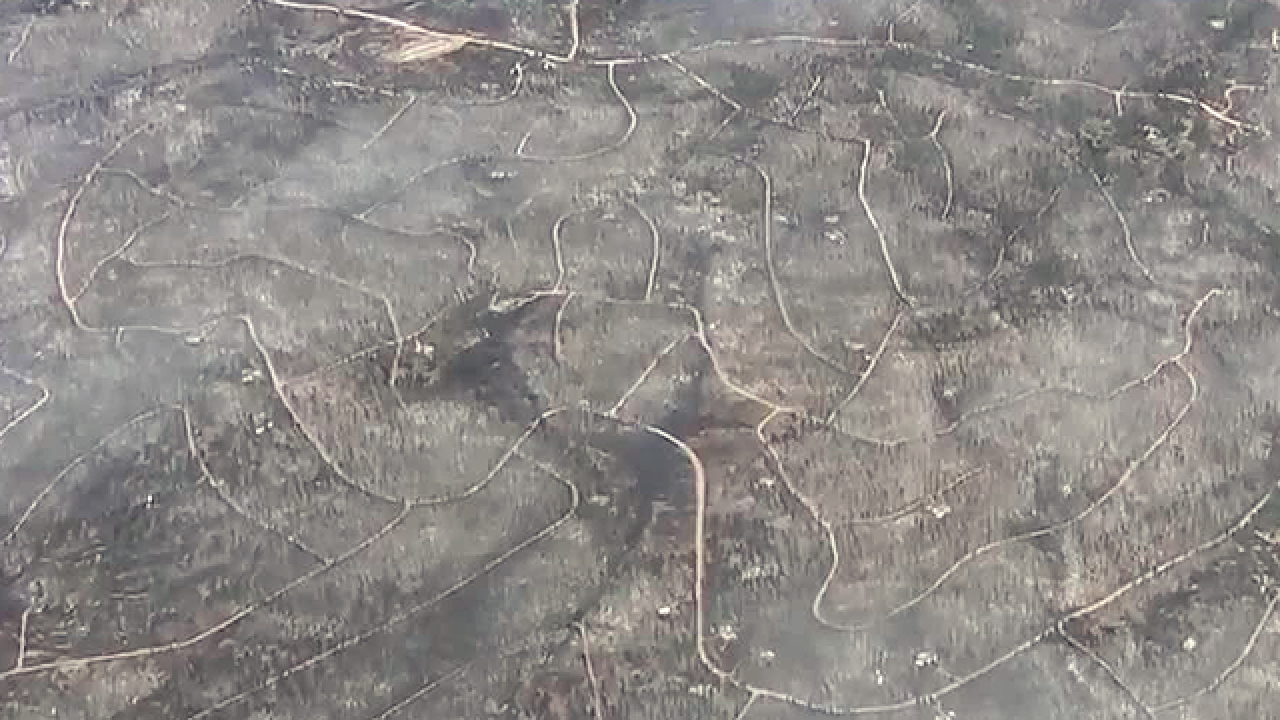 More than 100 homes destroyed in wildfire