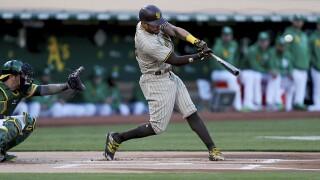 Padres Athletics tommy pham