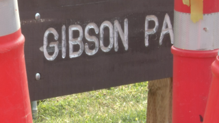 Construction begins for Gibson Park's main entrance