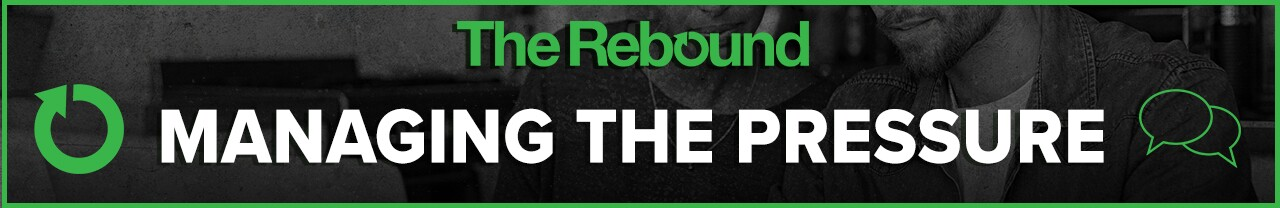 2020 Rebound Managing the Pressure website banner