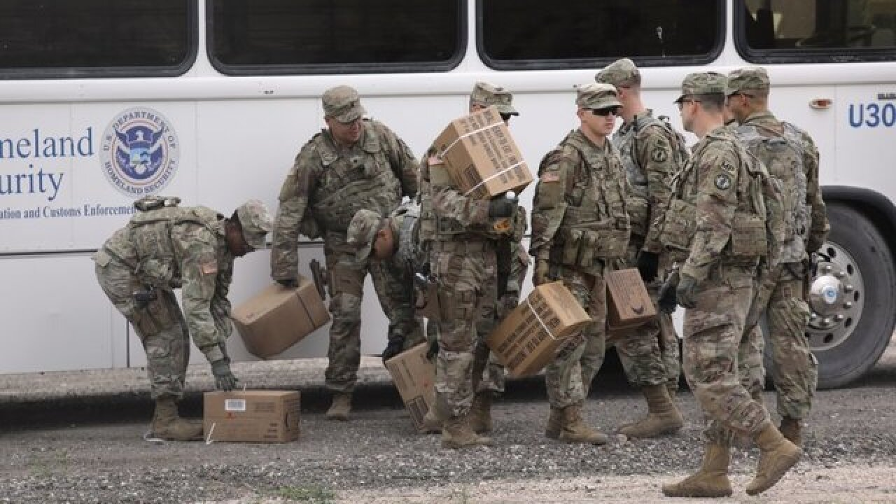 Pentagon sends 300,000 pounds of Thanksgiving food to troops at the border and overseas