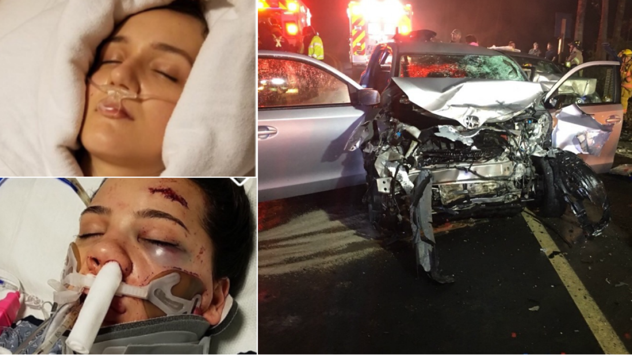 Sisters critically injured in Louisa hit-and-runcrash