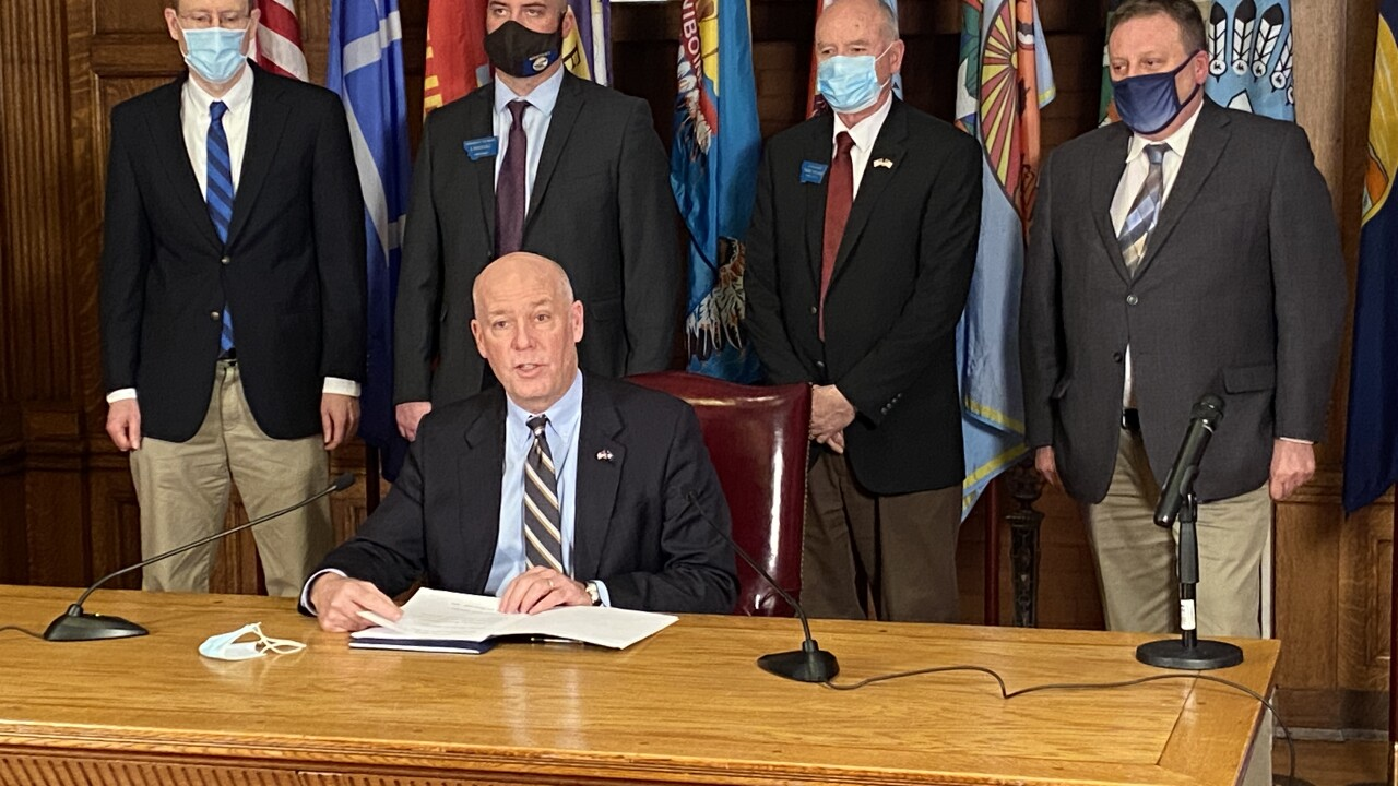 Gianforte COVID Bill Signing