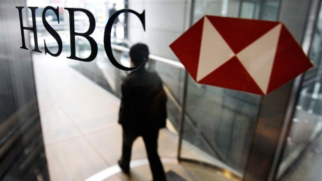 HSBC cutting 35,000 jobs worldwide