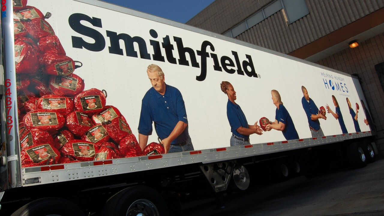 Smithfield Foods unveils new charitable grant program that will donate $1.5 million