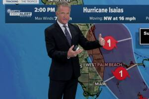 4 p.m. weather update on Hurricane Isaias