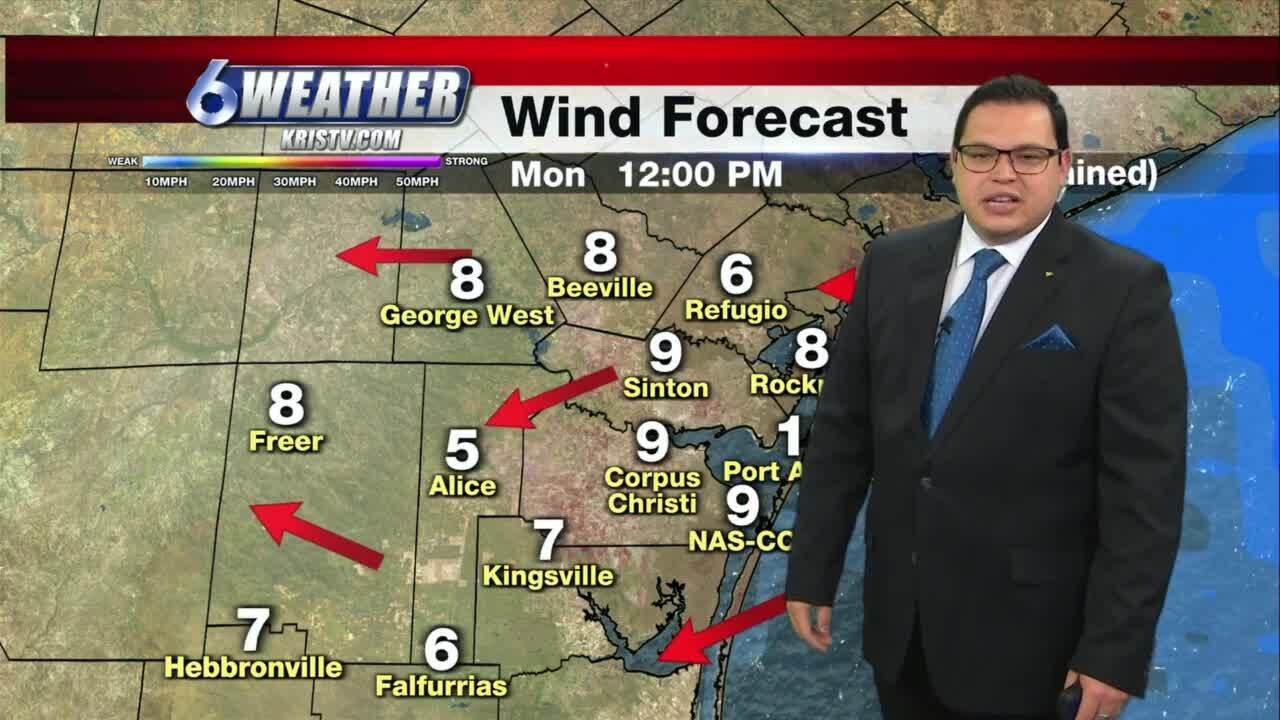Juan Acuña's weather for April 19, 2021