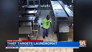 Crime Stoppers: Thief Targets Laundromat