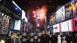 Times Square New Year's Eve 2019 Celebration