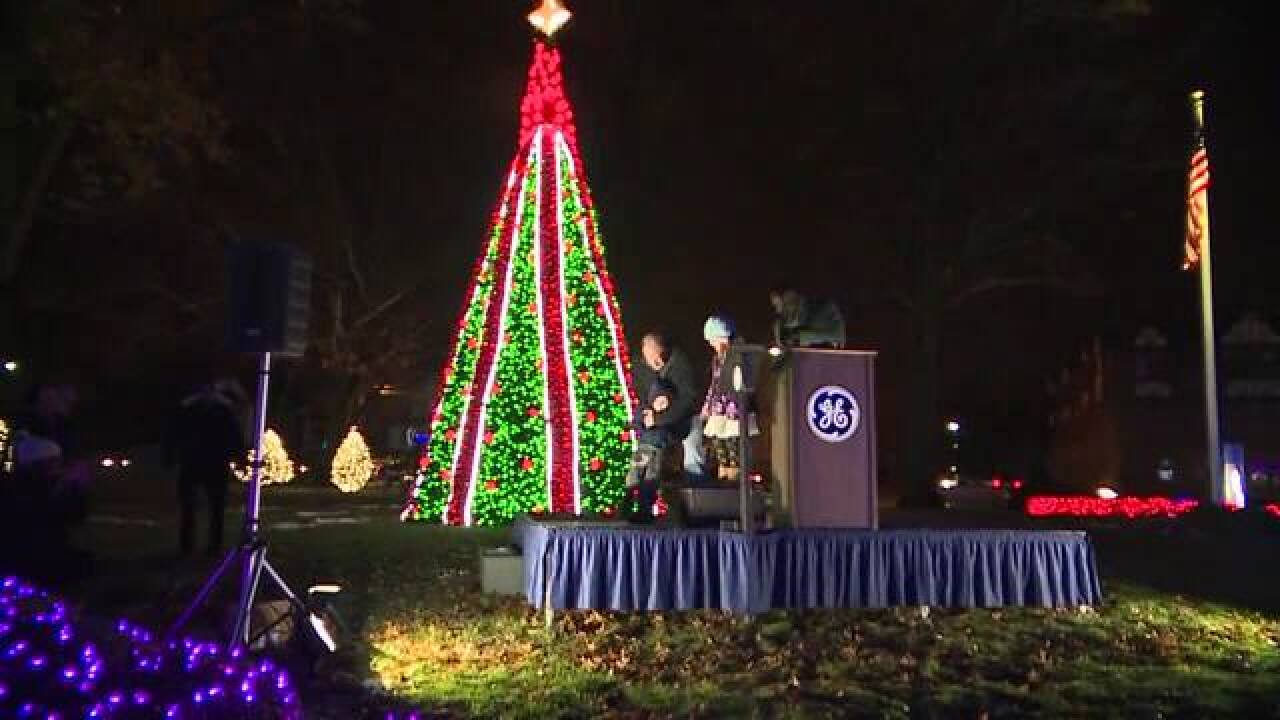 WATCH: GE's 94th annual Nela Park holiday lighting ceremony